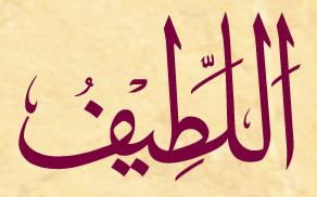 Allah'u Teala'nın El-Latif (c.c.) Esması